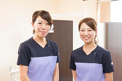 歯科衛生士が2人在籍してます